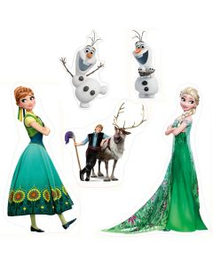 Disney Frozen Theme Cutouts