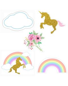 Unicorn Theme Cutouts