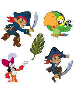 Captain Jake and the Neverland Theme Cutouts