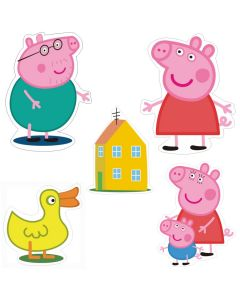 Peppa Pig Theme Cutouts