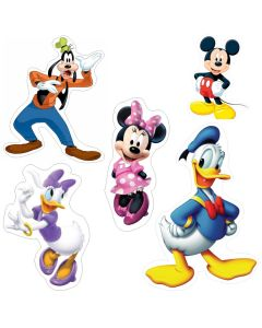 Mickey Mouse Clubhouse Theme Cutouts