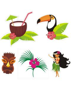 Hawaiian Theme Cutouts