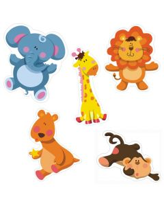 Jungle Safari Theme Cutouts