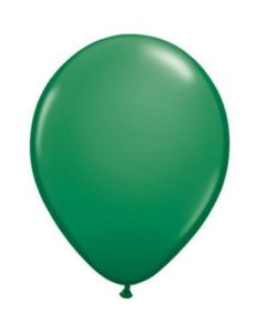 dark green latex balloon