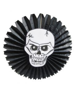Halloween Skull Paper Fan