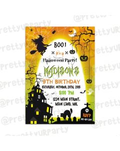 Halloween 03 Invitations
