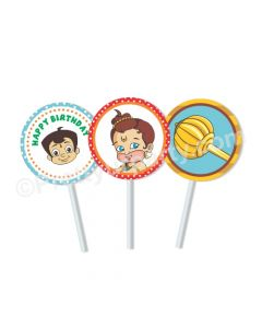 Hanuman Theme Cupcake / Food Toppers