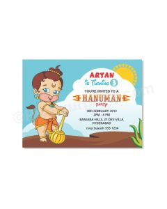 Hanuman E-Invitations