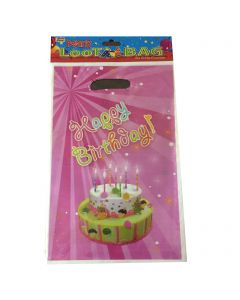 Happy Birthday Cake Loot Bags