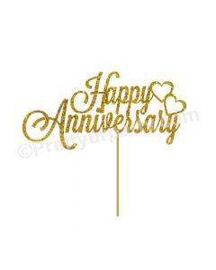 Happy Anniversary Cake Banner The Cake Boutique