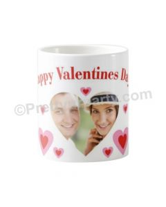 Happy Valentines Photo Mug