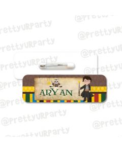 Harry Potter Theme Badge / Name Tag
