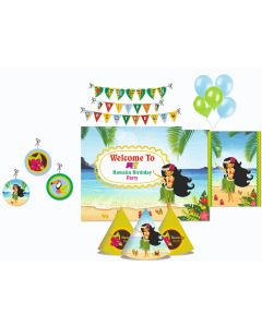 Hawaiian Party Decorations Package - 70 pieces