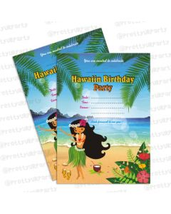 Hawaiian Invitations