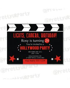 Hollywood E-Invitations