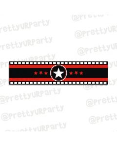 Hollywood themed wrist bands