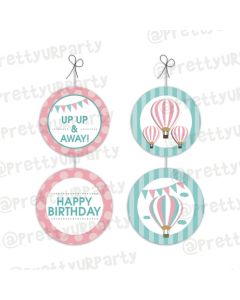 Hot Air Balloon Theme Danglers