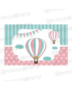 Hot Air Balloon Theme Table Mats
