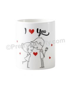 Happy Valentines I Love You Mug