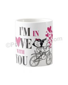 Happy Valentines I'm in Love Mug