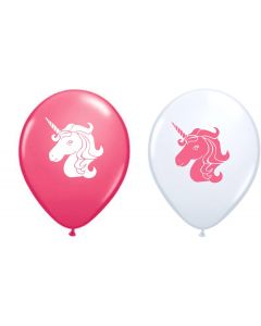 Printed Latex Unicorn Balloons