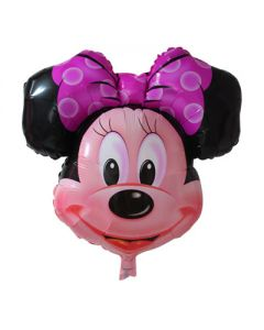 minnie mouse face superfoil balloon