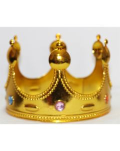 Golden prince crown