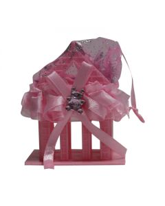 Baby Hut Favors - Pink