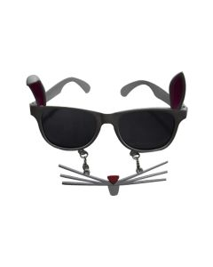 Bunny Rabbit Goggles Black