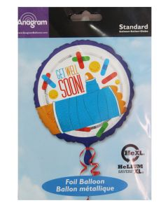 "Anagram 18"" Get Well Soon Balloon"