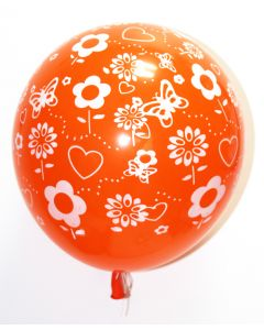 Flowers latex Balloons