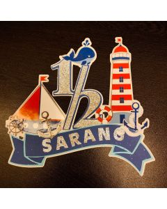 Nautical Cake Topper