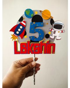 Space Cake Topper