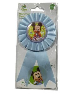 Baby Mickey Rosette Badge