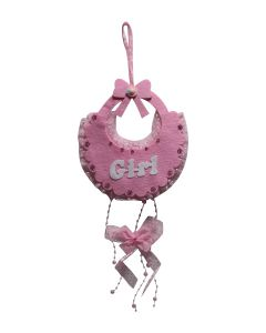 Bib it's a girl Decoration Hanging