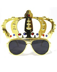 King Crown Big Goggle - Golden
