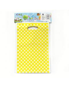 Yellow Polka Dots Loot Bags