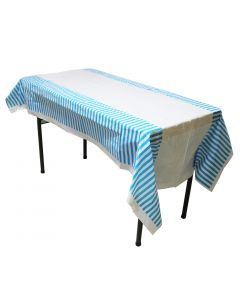 Blue Stripes Table Cover