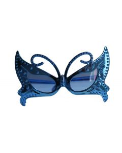 butterfly shaped metallic small goggles