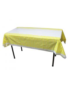 Yellow Stripes Table cover