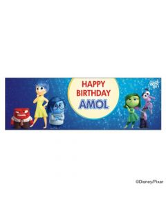 Personalized Inside Out Birthday Banner 36in