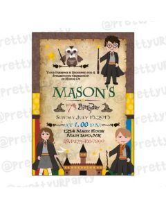 Harry Potter E-Invitations