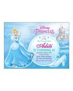 Disney Cinderella E-Invitations