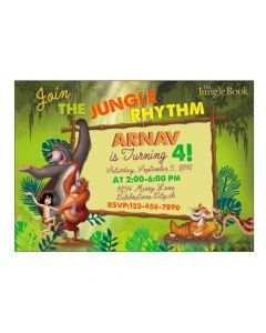Jungle Book Invitations