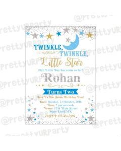 Twinkle Twinkle Little Star Boy E-Invitations