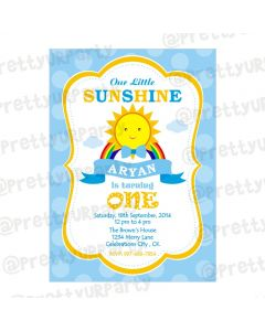 Sunshine Theme Invitations