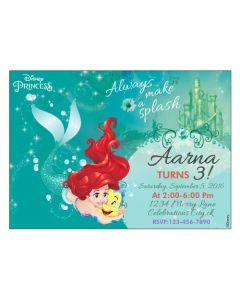 Ariel the Mermaid Invitations