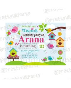 Little Bird Theme E-Invitations