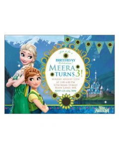 Frozen Fever E-Invitations