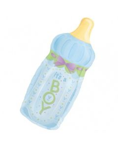 Its a Boy Bottle Supershape balloon